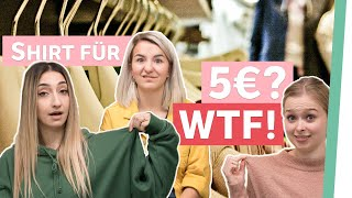 Billige Klamotten - REALTALK über Fair Fashion | Auf Klo