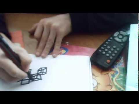 Видео как научиться рисовать в 3D