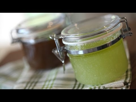How to Make Sugar & Salt Body Scrubs || KIN DIY