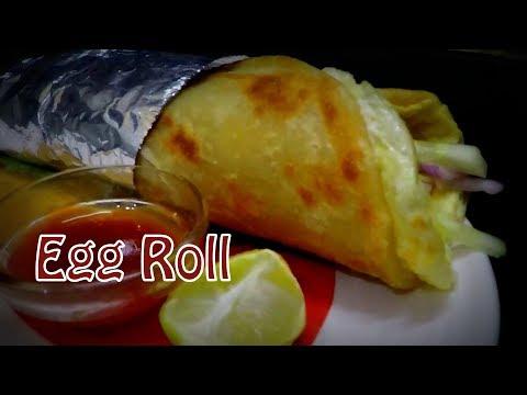Egg Kathi Roll | Egg Frankie Recipe | Indian Street Food Egg Roll ~ Priyanka