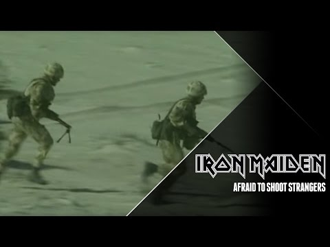 Songtext von Iron Maiden - Afraid to Shoot Strangers Lyrics