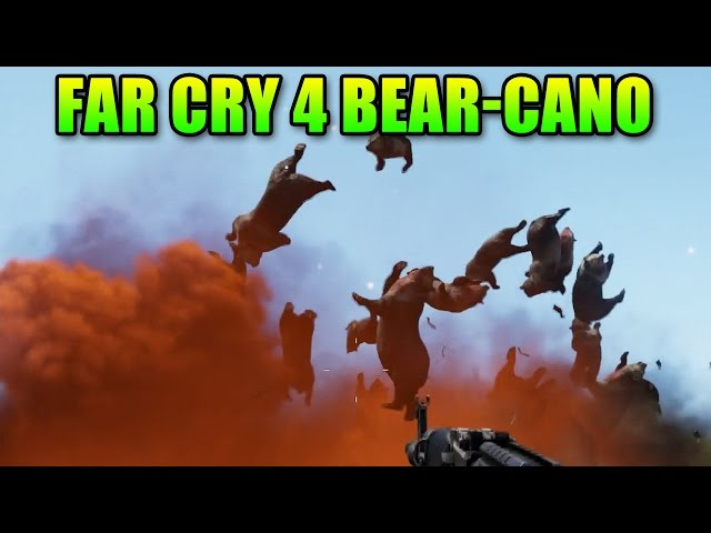 Far Cry 4 Bear-Cano! Map Editor Fun