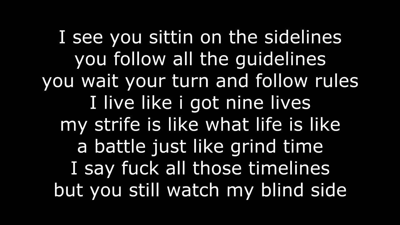 Freestyle rap lyrics