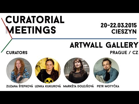 Curatorial Meetings / Artwall Gallery 10 // CZ
