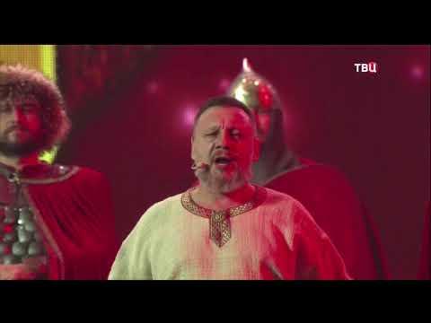 Николай Емелин с песней Русь на открытии праздничного концерта