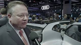 Audi at Auto Shanghai 2019 - Interviews