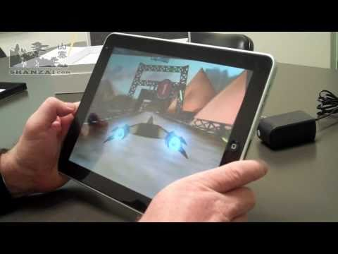 A detailed review of the Herotab M10, Android 2.2 tablet