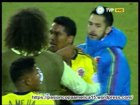(Relator Enojado) Colombia 1 Brasil 0 (Relato Dario Serna) Copa America 2015
