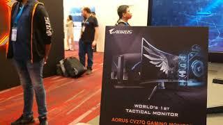 Computex 2019 nuevos monitores gaming de Aorus