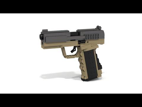 Custom Lego Gun MOC: P99 MK.II