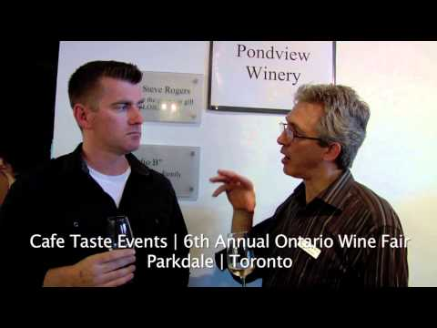 Toronto Wine Drinker | PondView Estate Winery | Interview with Joseph Barbera
