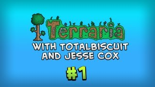 Terraria 1.2: Deep Place Mine - Episode 1 - Jesse is bad at being the Emissary