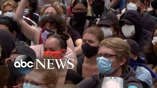 Experts warn protests may lead to new COVID-19 hotspots | ABC News