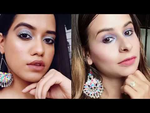 How I create debasree banerjee hairstyle & Makeup..!!