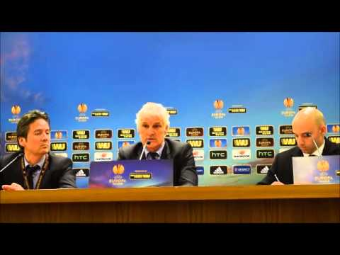 Roma-Feyenoord 1-1 Intervista a Fred Rutten