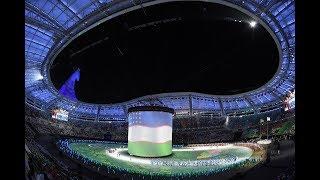 Шавкат Мирзиёев принял участие в церемонии открытия V Азиатских игр (Туркменистан 17.09.2017)