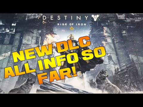 Destiny - RISE OF IRON INFO! New Destiny Expansion Confirmed!