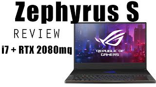 Zephyrus S 2080 Review!  Special in its own way 😎