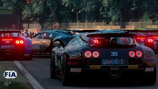 GT Sport - FIA Nations Season 2, R3 - New Penalty System at Monza!
