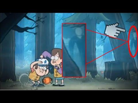 ¿Slenderman En Gravity Falls? ¿Verdad O Falso?