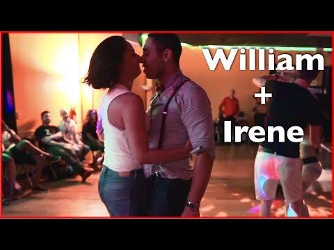 Hot Couple! William Teixeira & Irene Silvia Brazilian Zouk Dancing in Atlanta!