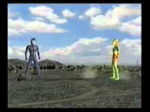 Ultraman Cosmos & Ultraman Agul In Fe3.flv video