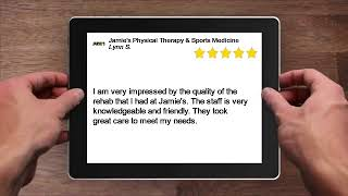 Jamie's Physical Therapy & Sports Medicine Amazing 5 Star Review