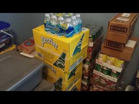 Хранение еды на случай природных катастроф