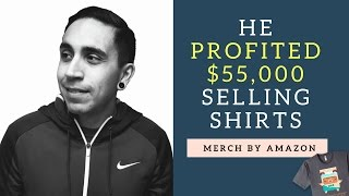 He Made $55,000 Profit Last Year Selling Shirts On Merch By Amazon