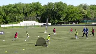 Coerver Training Method © Group Play © 06.05.2014.