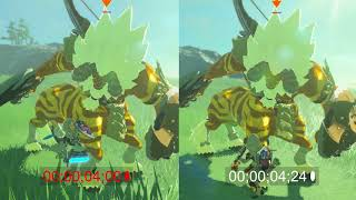 Zelda Breath of the Wild - 5 Advanced Lynel Tips and Tricks