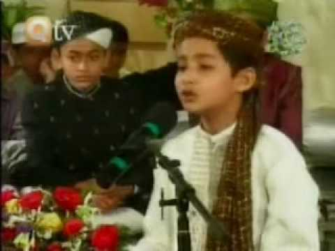 Qtv Mehfil E Naat Children P3 Naat (marhaba Ya Mustafa) By Hafiz Syed Shariq Ali video