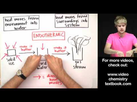 Phase Changes Exothermic Or Endothermic Youtube
