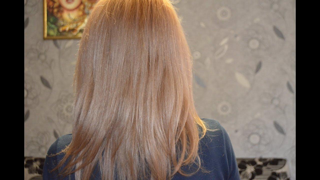 Как перекрасить обесцвеченные волосы в русый