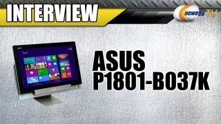 Newegg TV_ ASUS Transformer All-In-One PC Interview & Demo