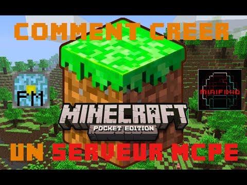 Tuto Créer un serveur Minecraft Pocket Edition avec PocketMine