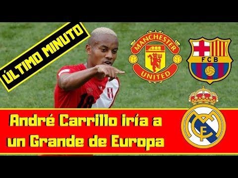 ÚLTIMO MINUTO 🔴 André Carrillo Ficharía por el Real Madrid ⚽ FC Barcelona y Manchester United thumbnail