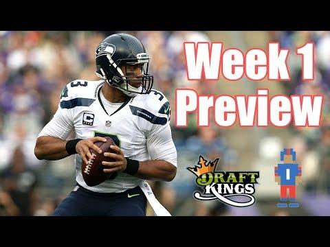 NFL Week 1 Preview & Picks - DraftKings