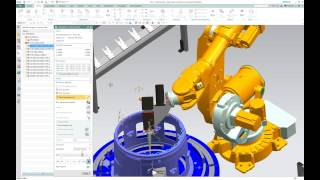 Robot Machining with NX CAM