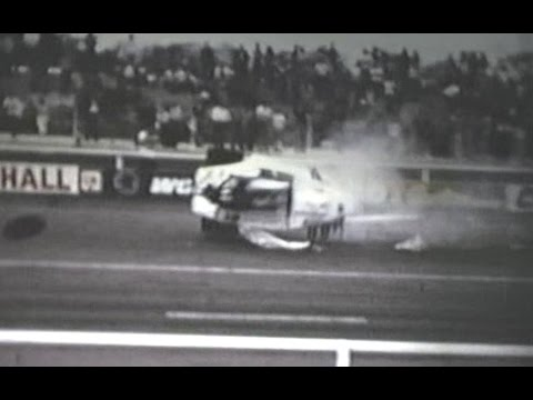 UK Drag Racing crashes, fires and wild rides 1966-1983