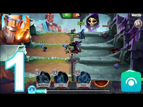 Spellbinders - Gameplay Walkthrough Part 1 - Mortis (iOS, Android)