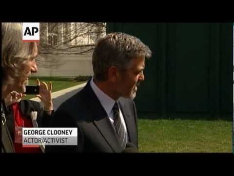 Clooney: 'Committment' From Obama on Sudan