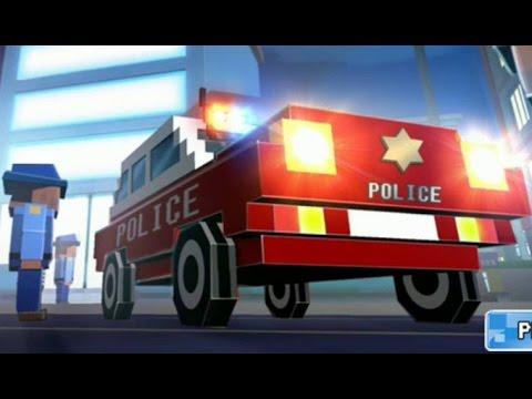 Мультфильм игра для детей - Город машинок!