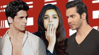 Alia Bhatt in a RELATIONSHIP with Siddharth Malhotra or Varun Dhawan?