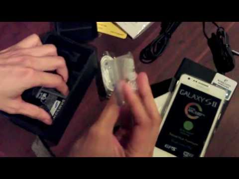 Unboxing Samsung Galaxy S2 White