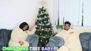 FAMILY CHRISTMAS TREE SET UP(FUN)!!!!