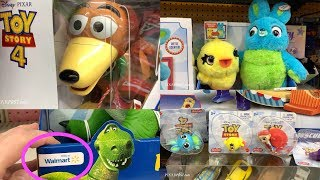 Toy Story 4 Toys Are Popping up on Shelves at Walmart Stores