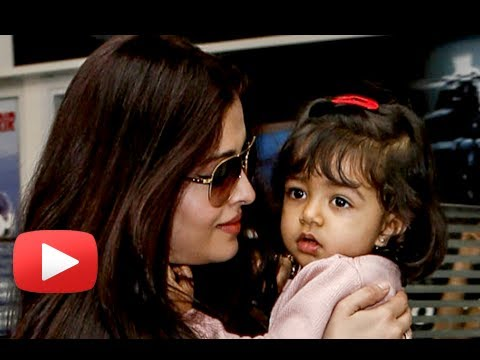 Aishwarya Rai Speaks On Aaradhya - 'i Don't Ever Leave Her' video