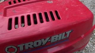 will it run?   troy bilt mower part 1