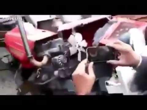 Sawraj Tractor Stunt Fail video